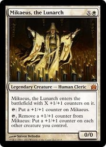 Magic: The Gathering From the Vault: Legends Single Card White Mythic Rare #6 Mikaeus, the Lunarch