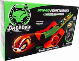 DaGeDar Rapid Fire Power Launcher & 2 DaGeDar Ball Bearings [Random Balls!]