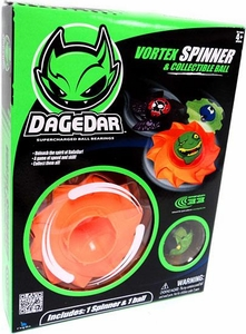 DaGeDar ORANGE Vortex Spinner & Collectible Ball [Random Ball]