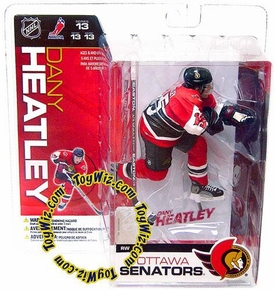 McFarlane Toys NHL Sports Picks Series 13 Action Figure Dany Heatley (Ottawa Senators) Red Jersey