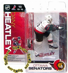 McFarlane Toys NHL Sports Picks Series 13 Action Figure Dany Heatley (Ottawa Senators) White Jersey Variant