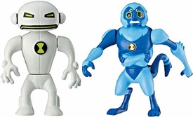 Ben 10 Alien Creation Chamber Mini Figure 2-Pack Spidermonkey & Echo Echo