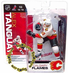McFarlane Toys NHL Sports Picks Series 13 Action Figure Alex Tanguay (Calgary Flames) White Jersey