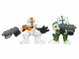 Star Wars 2010 Galactic Heroes Mini Figure 2-Pack Republic Commandos