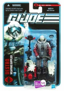 GI Joe Pursuit of Cobra 3 3/4 Inch Action Figure Destro {Weapons Supplier} [Arctic Threat]