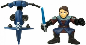 Star Wars 2010 Galactic Heroes Mini Figure 2-Pack Anakin Skywalker & STAP