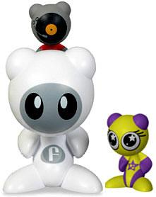U.B. Funkeys Starter Kit with 2 Figures [Scratch & Twinx]