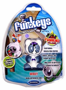 U.B. Funkeys Funkiki Islands Figure Webley White [Rare Version]