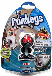 U.B. Funkeys Funkiki Island Figure Nibble Black