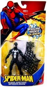 Spider-Man Classic Heroes Action Figure Black Costume Spider-Man with Glider