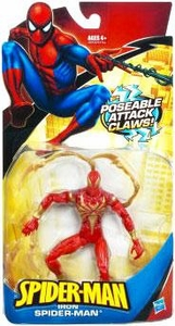 Spider-Man Classic Heroes Action Figure Iron Spider-Man [Poseable Attack Claws]