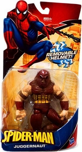 Spider-Man Hasbro Classic Heroes Action Figure Juggernaut with Removable Helmet
