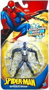 Spider-Man Hasbro Classic Heroes Action Figure Spider-Man with Launching Web Missile [Black Costume]