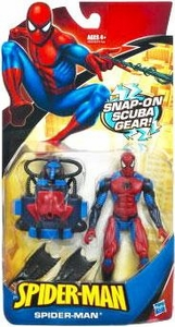Spider-Man Classic Heroes Action Figure Spider-Man [Snap-On Scuba Gear]