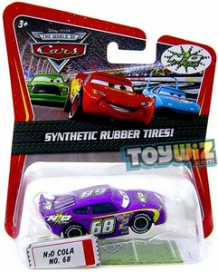 Disney / Pixar CARS Movie Exclusive 1:55 Die Cast Car with Synthetic Rubber Tires N2O Cola