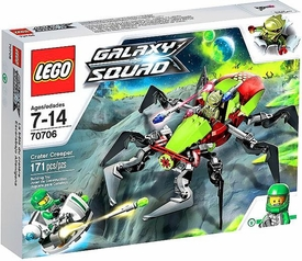 LEGO Galaxy Squad Set #70706 Crater Creeper New!