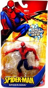 Spider-Man Classic Heroes Action Figure Spider-Man [Wall Sticking Web]