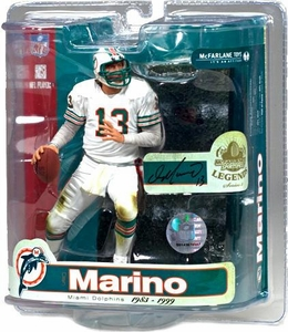 McFarlane Toys NFL Sports Picks Legends Series 3 Action Figure Dan Marino (Miami Dolphins)White Jersey