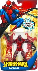 Spider-Man Classic Heroes Action Figure Carnage with Capture Webs