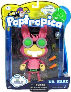 Poptropica 6 Inch Action Figure Dr. Hare