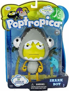 Poptropica 6 Inch Action Figure Shark Boy