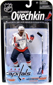 McFarlane Toys NHL Sports Picks Series 23 [2009 Wave 3] Action Figure Alexander Ovechkin (Washington Capitals) White Jersey Variant