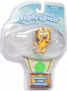 Poptropica Pocketeer 2 Inch Mini Figure Cowardly Lion