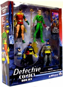 DC Direct Action Figure 5-Pack Boxed Set Detective Comics [Batman, Robin, Riddler, Batgirl & Bat-Mite]