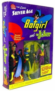 DC Direct Silver Age Deluxe Action Figure 2-Pack Batgirl & Joker