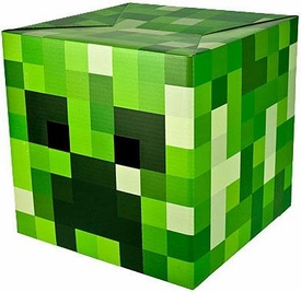 Minecraft Cardboard Head Creeper