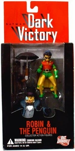 Batman DC Direct Dark Victory Action Figure Robin & Penguin
