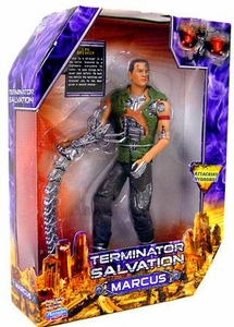 Terminator Salvation Playmates 10 Inch Deluxe Action Figure Marcus Wright