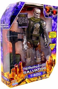 Terminator Salvation Playmates 10 Inch Deluxe Action Figure T-600