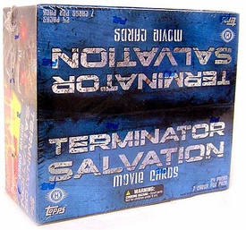 Terminator Salvation Movie Trading Card Box