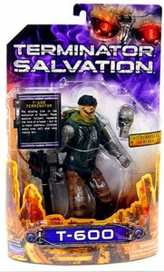 Terminator Salvation Playmates 6 Inch Action Figure T-600