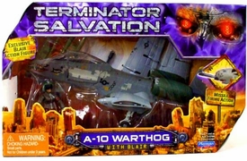 Terminator Salvation Playmates 3 3/4 Scale Vehicle A-10 Warthog with Blair Action Figure