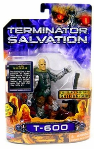 Terminator Salvation Playmates 3 3/4 Inch Action Figure T-600
