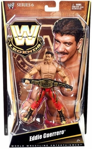 Mattel WWE Wrestling Legends Series 6 Action Figure Eddie Guererro