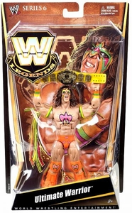 Mattel WWE Wrestling Legends Series 6 Action Figure Ultimate Warrior