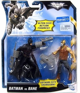 Mattel Dark Knight Rises Exclusive 5 Inch Ultra-Size Action Figure Bladed Batman Vs. Brown Vest Bane