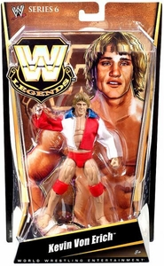 Mattel WWE Wrestling Legends Series 6 Action Figure Kevin Von Erich [Red, White & Blue Jacket]