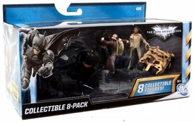Batman Dark Knight Rises 3 Inch Collectible Figure 8-Pack [Scarecrow, Batman, Catwoman, Camo Tumbler, Bane, The Bat, Tumbler & Batman]