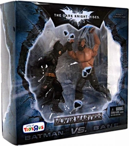 Batman Dark Knight Rises Movie Masters Exclusive Deluxe Action Figure 2-Pack Batman Vs. Bane