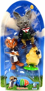 Hop Movie Mini Figurine 3-Pack Phil the Chick, E.B. Bunny & Henry O'Hare