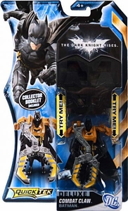 Batman Dark Knight Rises QuickTek Deluxe Action Figure Combat Claw Batman