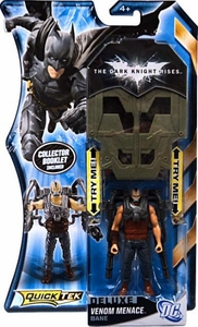 Batman Dark Knight Rises QuickTek Deluxe Action Figure Venom Menace Bane