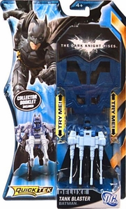 Batman Dark Knight Rises QuickTek Deluxe Action Figure Tank Blaster Batman