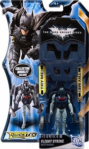 Batman Dark Knight Rises QuickTek Deluxe Action Figure Flight Strike Batman