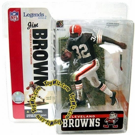 McFarlane Toys NFL Sports Picks Legends Series 2 Action Figure Jim Brown (Cleveland Browns) Brown Jersey