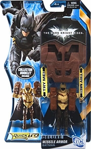 Batman Dark Knight Rises QuickTek Deluxe Action Figure Missile Armor Batman